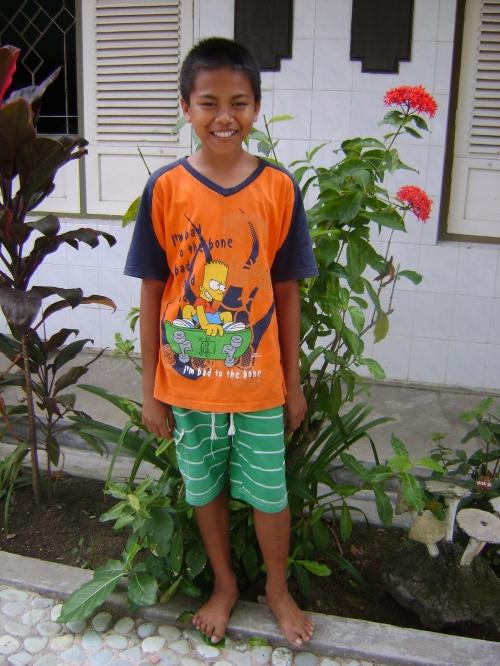 Sudiarta - 14 years old. Photo taken on June 14, 2009