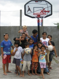 Visiting an orphanage in Bali Indonesia