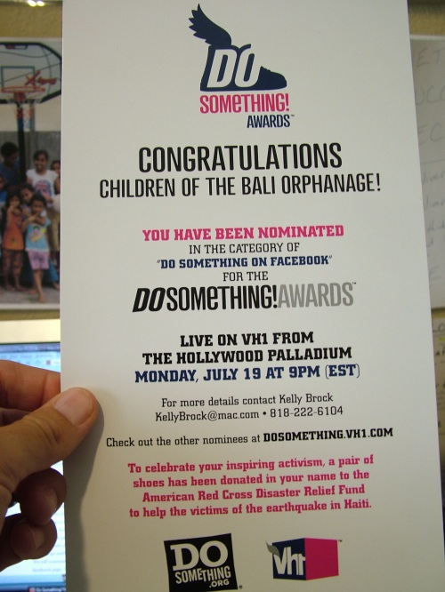 "VH1 ""Do Something"" Awards for Facebook"